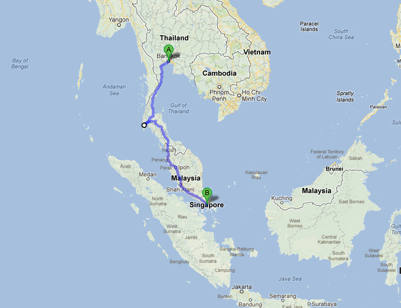Bike Trip South East Asia Bike Tour Thailand Malaysia Singapore