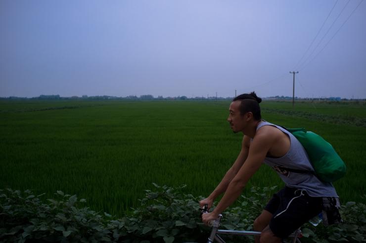 Chongming Island Shanghai Cycling