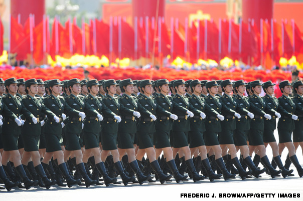 Chinese People's Liberation Army (PLA) w