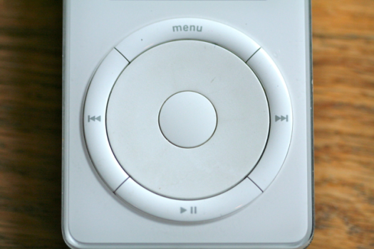 ipod scroll wheel