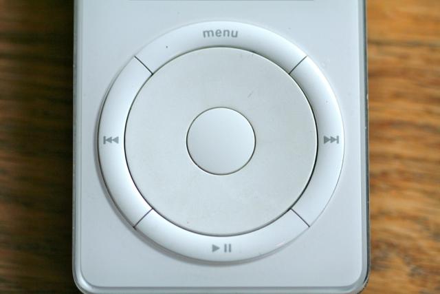 ipod scroll wheel