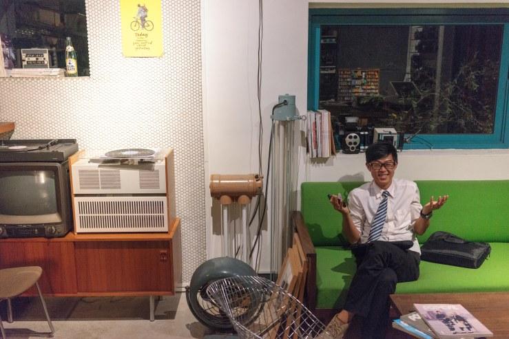 CameZa, Taichung vintage camera cafe